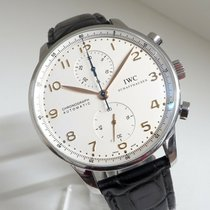IWC Portuguese Chronograph 41mm Blanc