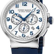 Ulysse Nardin Titanium Automatic White new Marine Chronograph