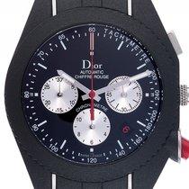 Dior Chiffre Rouge Stahl Kautschuk Automatik Chronograph 41mm...