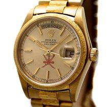 Rolex Vintage Day Date Qaboos Oman Ref-18078 18k Yellow Gold...