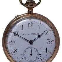 IWC Relógio usado 1906 Ouro amarelo 50mm Árabes Corda manual Só o relógio