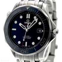 Omega Seamaster Ref-21230412003001 Stainless Steel Box Papers...