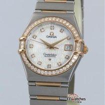 歐米茄 Constellation 95 Ladies Diamonds Box Papers Rose Gold