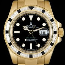 Rolex GMT-Master II pre-owned 40mm Yellow gold