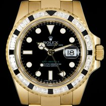 Rolex 116748SANR Yellow gold 2012 GMT-Master II 40mm pre-owned United Kingdom, London