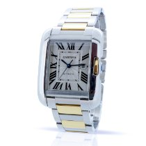Cartier Tank Anglaise pre-owned Steel
