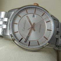 ck Calvin Klein Steel 40mm Automatic K5S34B46 new