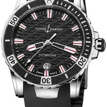 Ulysse Nardin Lady Diver neu Automatik Uhr mit Original-Box und Original-Papieren 8153-180-3/02