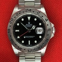 Rolex Explorer II Steel 40mm No numerals United States of America, New York, Troy