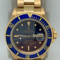 Rolex 16808 Yellow gold Submariner Date pre-owned