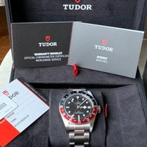 Tudor M79830RB-0001 Steel 2019 Black Bay GMT 41mm pre-owned United States of America, New Jersey, Manalapan