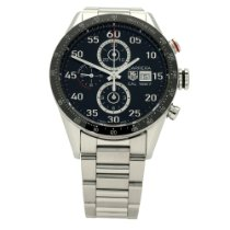 TAG Heuer Carrera Calibre 1887 Steel 43mm Black No numerals United Kingdom, Liverpool
