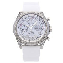 Breitling Bentley GT Steel 44.8mm White No numerals