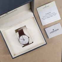 Junghans Meister Classic Steel 38mm Silver No numerals