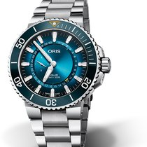Oris Aquis Steel 43.5mm Blue No numerals United States of America, Georgia, Atlanta