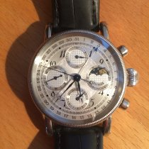 Chronoswiss CH 7523 Steel 2006 Lunar 38mm pre-owned