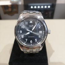 IWC Pilot's Watch Automatic 36 pre-owned 36mm Grey Date Steel