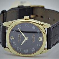 Rolex Cellini Danaos Pозовое золото Чёрный Aрабские