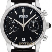 Union Glashütte Seris Otel 38mm Negru