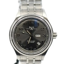Ball Steel Automatic Grey 41mm new Trainmaster Cleveland Express