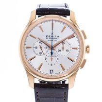 Zenith Captain Chronograph Rose gold 42mm Silver United States of America, Georgia, Atlanta