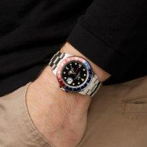 Rolex GMT-Master II 16710 Sehr gut Stahl 40mm Automatik