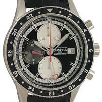 Davosa World Traveller Chronograph Stahl Automatik 45mm