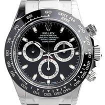 Rolex Cosmograph Daytona Stainless Steel Black Dial 116500LN
