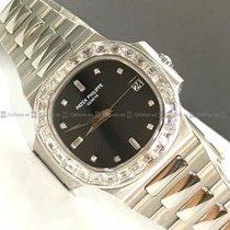Patek Philippe - Nautilus 3800-130 Diamond Bezel Black Dial...
