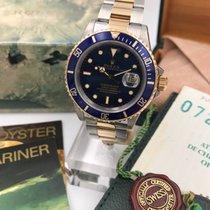 Rolex Submariner 16803 steel gold  full set blu dial