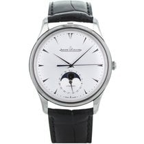 Jaeger-LeCoultre Master Ultra Thin Moon Steel 39mm Silver
