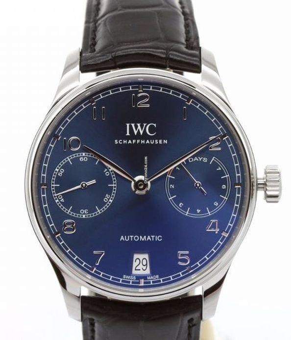 IWC Portugieser Automatik IW500710 2021 neu
