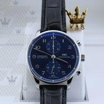 萬國 IW371491   Portugieser Chronograph Blue Dial