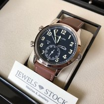 Patek Philippe Travel Time Calatrava Pilot White Gold