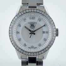 TAG Heuer Carrera WV1413, Ladies, S Steel, MOP Dia Dial and Bezel