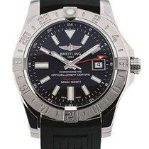 Breitling Avenger II GMT 43MM Black Men Watch A3239011/BC35/15...