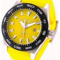 Locman Stealth Steel 46mm Yellow No numerals