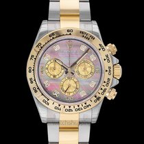 Rolex Daytona Yellow gold 40.00mm Mother of pearl United States of America, California, San Mateo