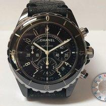 Chanel J12 Chronograph Black Ceramic