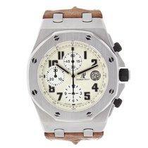 Audemars Piguet AP Royal Oak Offshore Safari Chronograph Brown...