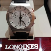 Longines Oposition new Quartz Chronograph Watch with original box and original papers L3.618.4.72.2