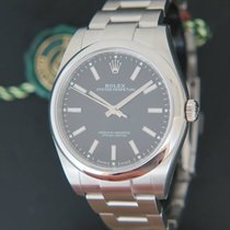 Rolex Oyster Perpetual Black Dial NEW 114300