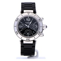 Cartier Pasha Seatimer tweedehands 42mm Staal