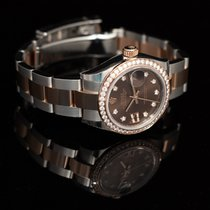 Rolex Lady-Datejust Steel 28mm Brown United States of America, California, San Mateo