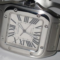 Cartier Santos 100 Steel 42mm White Roman numerals United States of America, New York, Greenvale