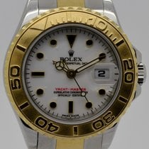 Rolex Yacht-Master Gold/Steel 29mm White