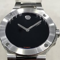 Movado SE Extreme Staal 44mm Zwart Geen cijfers