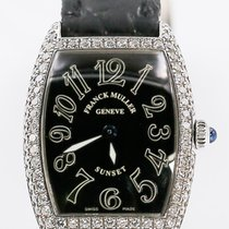 Franck Muller White gold 24mm Quartz Cintrée Curvex pre-owned Singapore, Singapore