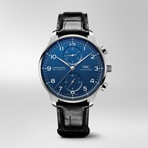 IWC IW371601 Steel 2019 Portuguese Automatic 41mm new United States of America, New York, NYC
