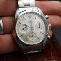 Rolex Chronograph Сталь 36mm Cеребро Без цифр
